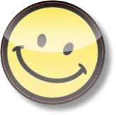 Mecko's smiley face badge icon